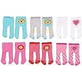 Dolly Moda Tights, 2 pack Doll tights - accesorios para muñecas (2 pack, Doll tights, 3 año(s), Multicolor, 38-46 cm, Chica, 2 pieza(s))