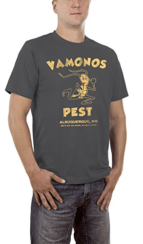 Touchlines Herren T-Shirt Vamonos Pest, Gr. XXXXX-Large, Grau (Darkgrey 17)
