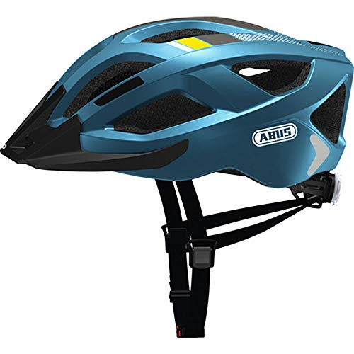 Abus Aduro 2.0 Helmet Steel Blue Kopfumfang M | 54-58cm 2019 Fahrradhelm