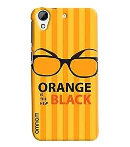 Omnam Orange Is The New Black Printed Designer Back Cover Case For HTC Desire 728