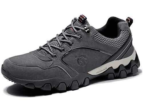 GJRRX Scarpe da Escursionismo Scarpe da Tennis da Uomo Scarpe da Trekking Outdoor da Arrampicata Leggera Scarpe da Sport Traspiranti e Sicure per Running Climbing Gym