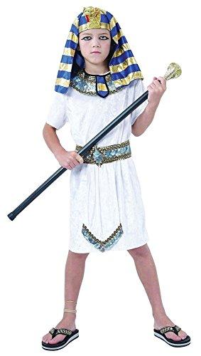 Henbrandt, ägyptisches Pharaoh-Kostüm für Kinder, Alter 4 - 12 Jahre, Welttag / -Woche des ()