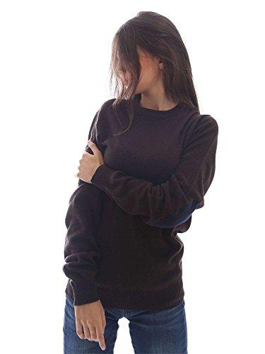 Wool&co WO4104 Pullover Femmes Brun