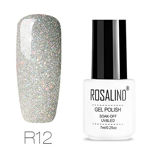 Berrose Regenbogensystem Phototherapie Nail Shining UV-Gelpoliermittel Tränken Sie Art Topcoat Base Coat Gel nail polish Nagelpolitur Metallic Nagellack Magic Spiegeleffekt Lack