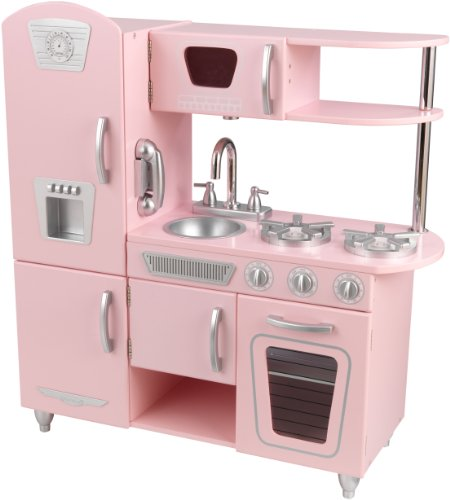 Kidkraft 53179 - Cocina antigua rosada