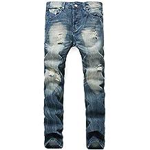 design di qualità colore n brillante il più economico Amazon.it: jeans strappati uomo