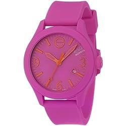ESQ by Movado Women's 42mm Purple Silicone Band & Case Quartz Analog Watch 07301435