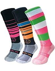 WackySox Trois paires de chaussettes de sport pour le Kaléidoscope dégriffés