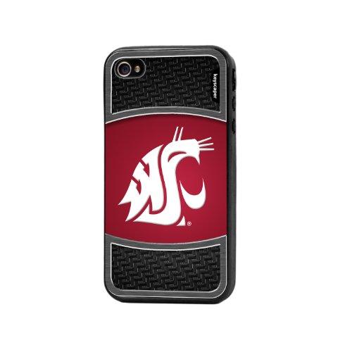 Keyscaper Handy Schutzhülle für Apple iPhone 4/4S-Washington State University -