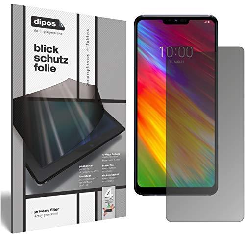 dipos I Blickschutzfolie matt passend für LG G7 One Sichtschutz-Folie Bildschirm-Schutzfolie Privacy-Filter