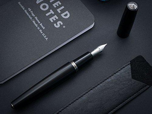 Namisu Nova Studio Ebonite Füllfederhalter–Feder Titan EF