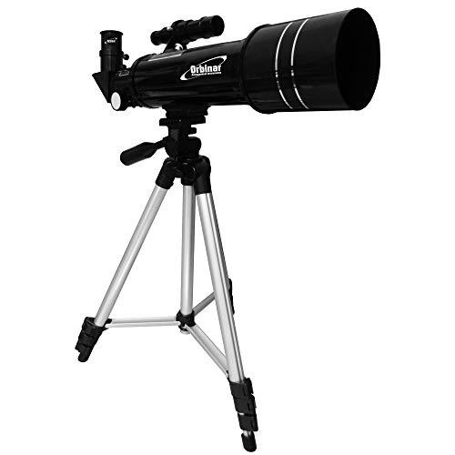 Orbinar 400/70 Telescopio De Viaje + Mochila + Smartphone Adaptador DKA5