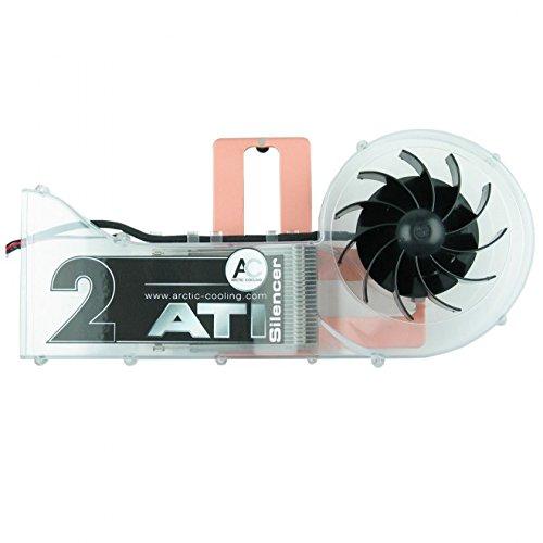 Arctic ATI Silencer 2 Rév. 2 Ventilateur pour Carte Graphique Noir