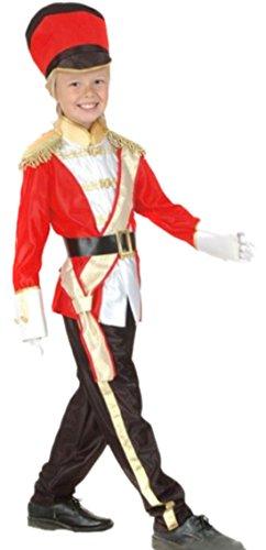 Halloweenia - Jungen Trommler, Soldaten Kostüm, Karneval, 122, - Roter Ara Kostüm