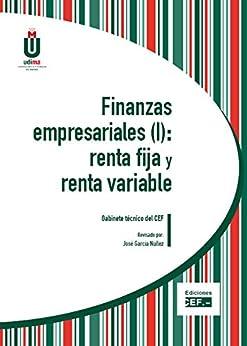 Finanzas empresariales (I): renta fija y renta variable Epub Descarga gratuita