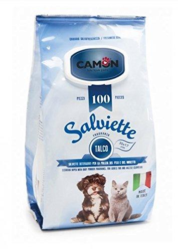 Camon Salviette, Salviettine igieniche cane\gatto maxiformato 100pz