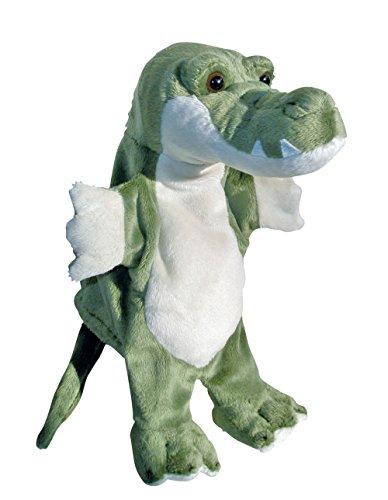 Sycomore Sycamore–Marioneta de mano, cocodrilo de peluche23cm–pel60316