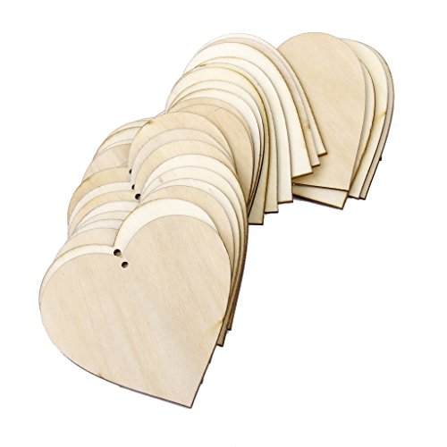 Phenovo-Blank-Wooden-Heart-Embellishments-for-Crafts-Pack-of-25