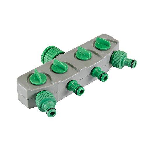 Generic NV _ 1001003957 _ Yc-uk2 Tcheder adaptateur pour tuyau 4 Way robinet Tor C connecteur individuels Tor I répartiteur au Tuyau double Switched 4 Way T
