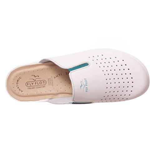 Fly Flot , Chaussons pour homme Blanc Bianco Bianco