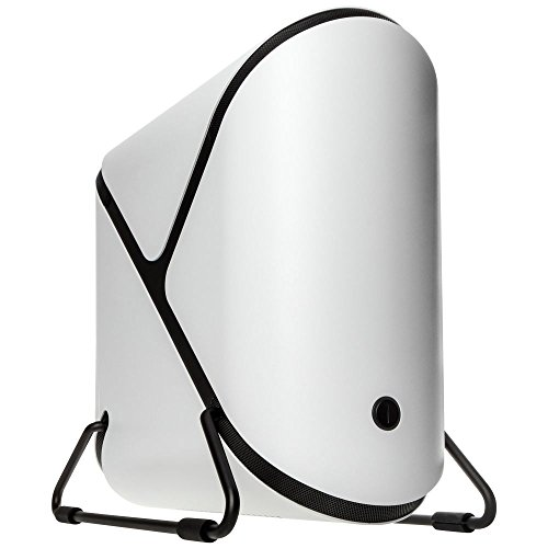 BitFenix Portal ITX-Tower Blanco Carcasa de Ordenador - Caja de Ordenador (ITX-Tower, PC, Acrílico, Acrilonitrilo butadieno estireno (ABS), Aluminio, SECC, Mini-ITX, Blanco, 12,5 cm)