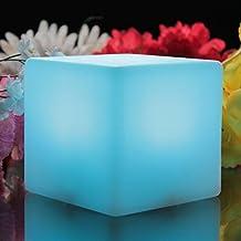 Cubo Luminoso LED 10 cm - Lámpara de Ambiente Luz Noche de PK Green