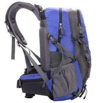Outdoor-Rucksack Tasche schwarz 28L,Blau