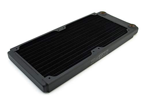 XSPC TX240 120mm Ultrathin Duel Lüfter Radiator - Schwarz - Xspc Von Pc-radiator