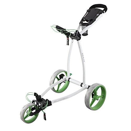 BIG MAX Blade IP 3 Rad Golftrolley - 2018 White/Lime