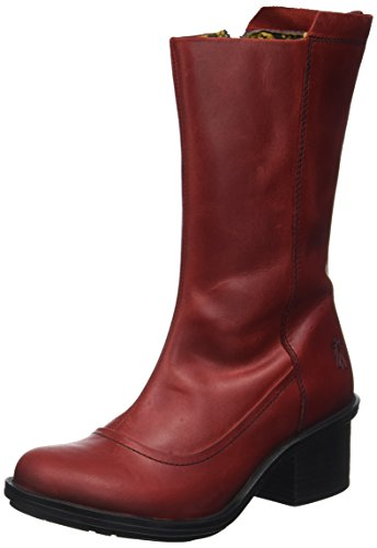 Volare Londra Damen Came718fly Stiefel Rot (rosso)