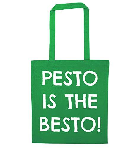 Flox Creative Green Tote Bag Pesto is the Besto