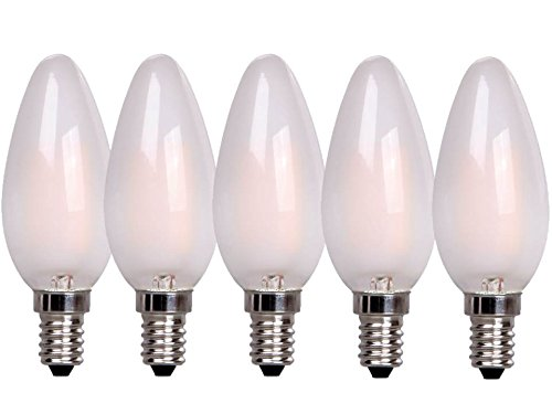Xq-Lite 10.006.77 (XQ1401/5) Pack de Bombillas LED Vela, E14, Blanco, 5 Unidades