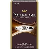 Trojan naturalamb Luxus geschmiert Natürliche Kondome 10EA preisvergleich bei billige-tabletten.eu