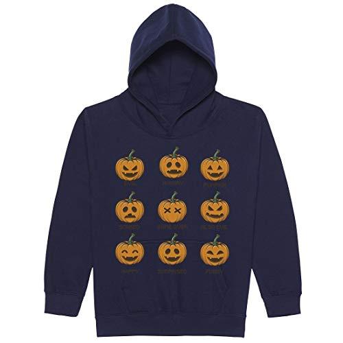 range Pumpkin Moods with Many Funny Faces Unisex Jungen Mädchen 08 Jahre ()