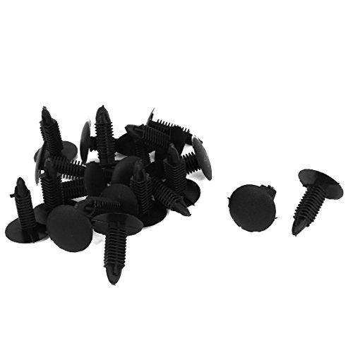Rivet Plastique Agrafe Clip pour Voiture Vis Pare-boue Corps Porte Garniture Panneau Capote 20 Pcs