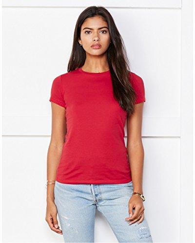 Bella -  T-shirt - Donna Red