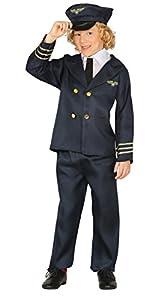 Guirca- Disfraz piloto aéreo, Talla 7-9 años (81382.0)