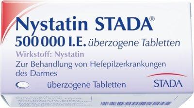 Nystatin STADA 500000 I.E 50 stk