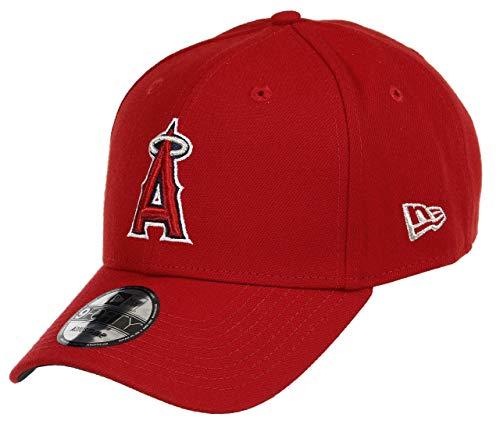 New Era Herren 9Forty Anaheim Angels Kappe, Rot, OSFA