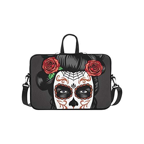 Muster Aktentasche Laptoptasche Messenger Schulter Arbeitstasche Crossbody Handtasche für Geschäftsreisen ()