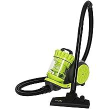 Cecotec Aspirador trineo Conga Ciclonic Cord Rewinder. Aspirador sin bolsas potente. 800 W. Ciclónico. Gran capacidad 2 L. Filtro HEPA. Accesorio 2 en 1.