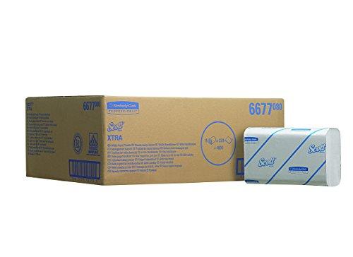 scott-6677-xtra-airflex-handtcher-interfold-320-1-lagige-bltter-pro-packung-wei-15-er-pack