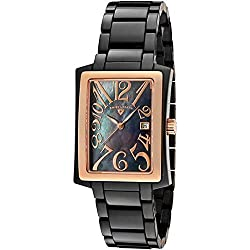 Swiss Legend SL-10034-BKBRA Reloj de pulsera de las mujeres