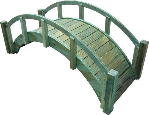 samsgazebos-miniature-japanese-treated-wood-garden-bridge-29-inch-green