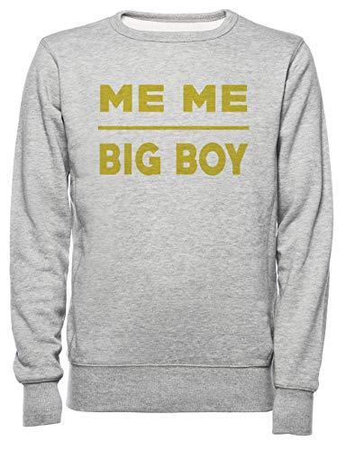 a15cfbdab Rundi Me Me Big Boy T Shirt Hombre Mujer Unisexo Sudadera Jersey Gris  Tamaño L - Women's Men's Unisex Sweatshirt Jumper Grey