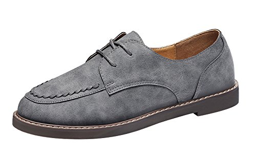 fq-real-balck-friday-womens-retro-low-top-sewing-lace-up-flat-pu-boat-shoes-oxford-5-ukgray