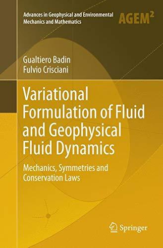 Variational Formulation of Fluid and Geophysical Fluid