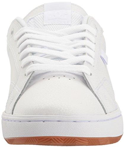 DC Mens Astor Skateboarding Shoe White/Gum