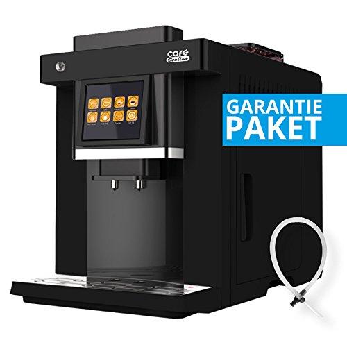 50 sparen + Garantiepaket Kaffeevollautomat EASY-TOUCH LED Beleuchtung Café Bonitas Touchscreen...