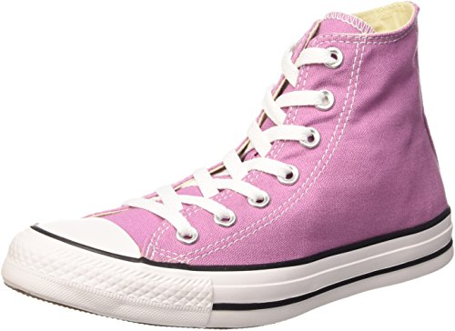 Converse Unisex-Erwachsene All Star Hi Canvas Seasonal Lauflernschuhe Sneakers Powder Purple